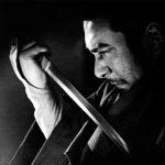 Zatoichi Drawing his Sword