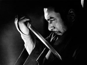 Zatoichi Drawing his Sword