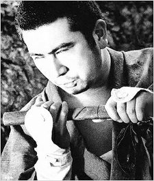 Zatoichi and his canse sword